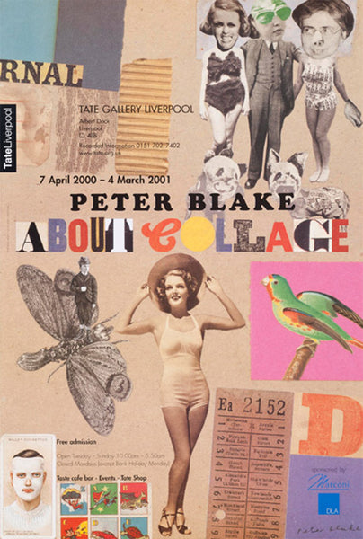 About Collage , 2001  by Peter Blake