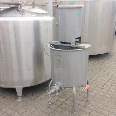 Vertical Mixing Tank 100L With Agitator