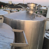 Stainless steel vertical tank 12.000.