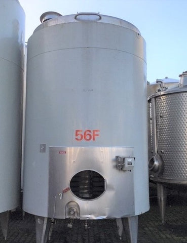 Vertical Jacketed tank 10.000L