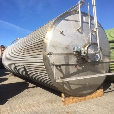 Vertical Insulated Silos Tank 75m3