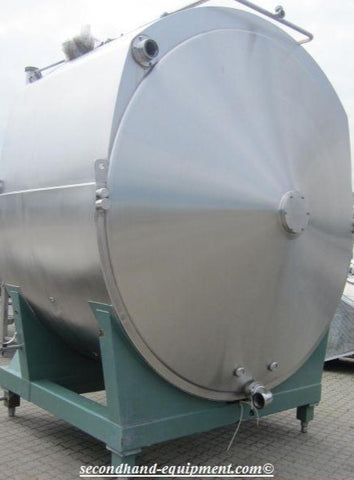 Cheese Vat, capacity 10.000 L, Alfa Laval - Tebel , Good condition, Insulated Cheese vat, Double jacket vat, Horizontal agitator