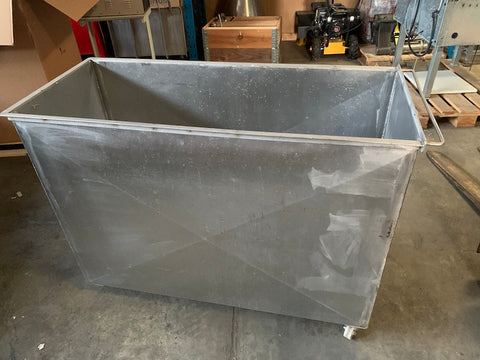 Stainless Steel Vat on Wheels