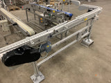 Stainless Steel Modular Conveyor with swing