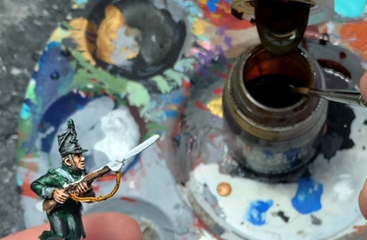 Mr MLG paints a Warlord Games Chosen Man miniature