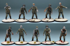 Studio Miniatures: WW2 Zombies