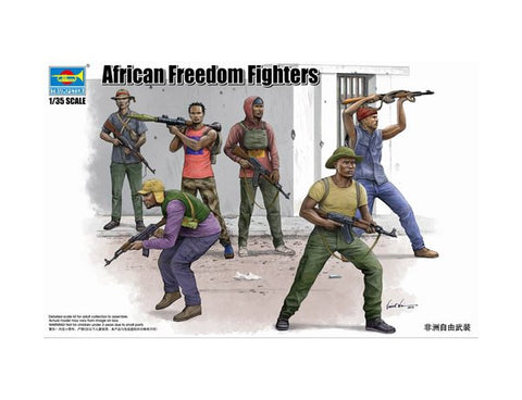 Trumpter 1/35 - African Freedom Fighters: www.mightylancergames.co.uk