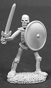 02015: Skeleton Swordsman by Ed Pugh