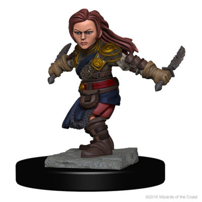 D&D Nolzur's Marvelous Minis: Halfling Female Rogue [SKU: 72627]