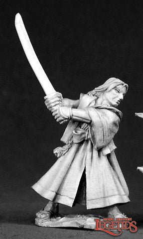 02533: TOSHIRO MALE RONIN. Sculpted by Werner Klocke