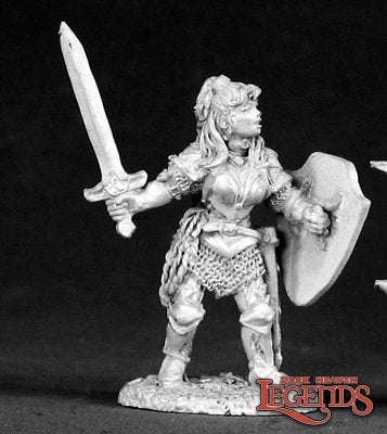 02535: NICOLE OF THE BLADE. Sculpted by Sandra Garrity