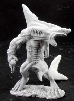 reaper miniatures Wereshark 02890: