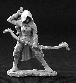 03255 - Callie, Female Rogue with Bow (Reaper DHL) :www.mightylancergames.co.uk