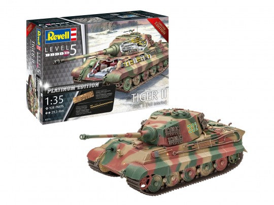 Revell TIGER II Ausf. B - Full Interior (Platinum Edition) -1:35