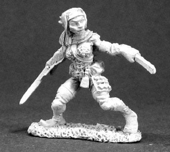reaper miniatures 03285: Dynis, Female Elf Thief