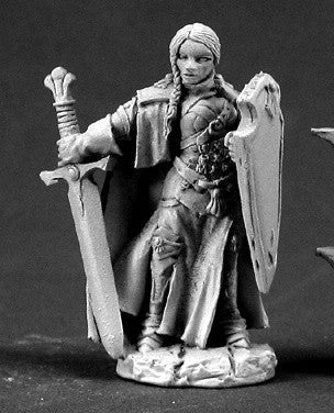 Dark Heaven Legends 03364: Isabeau Laroche, Female Paladin by Werner Klocke