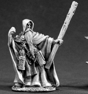 Reaper DHL  03393 - Vistaril Quillscratch, Wizard: www.mightylancergames.co.uk