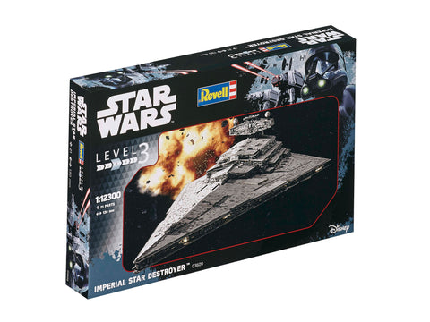 Imperial Star Destroyer-Model Kit  (1/12300)  -  Scale Plastic Model Kit