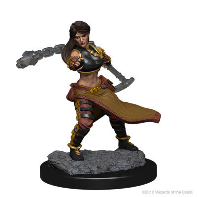 D&D Nolzur's Marvelous Minis: Human Female Monk [SKU: 72634]
