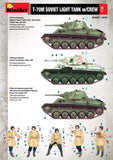 T-70M Soviet Light Tank - w/crew  -Miniart 1/35 Special Edition Scale Model