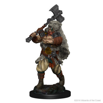 D&D Nolzur's Marvelous Minis: Human Male Barbarian (SKU: 72643)