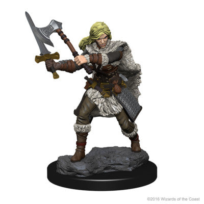 D&D Nolzur's Marvelous Minis: Human Female Barbarian (SKU: 72644)