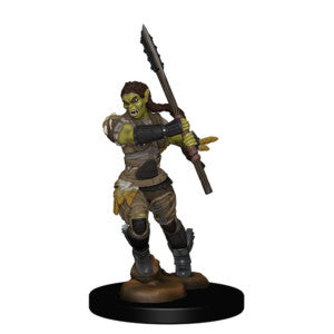 Pathfinder Deep Cuts Miniatures: Half-Orc Female Barbarian