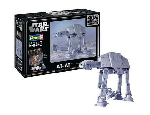 AT-AT - The Empire Strikes Back 40th Anniversary Kit (1:53 Scale Model Kit)