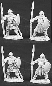 06004: Men At Arms Of Anhur (4 figures) by Jim Johnson