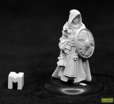 07023 DUNGEON DWeLLERS: AILENE, FEMALE CLERIC