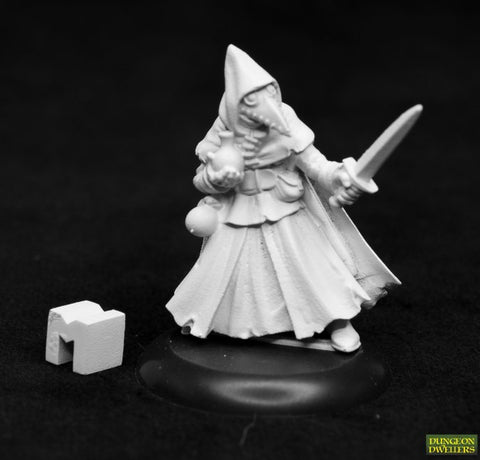 07024 DUNGEON DWELLERS: BROTHER LAZARUS, PLAGUE DOCTOR
