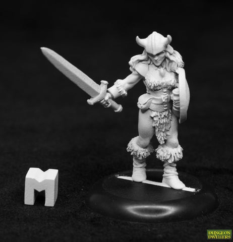 07025 DUNGEON DWELLERS: JANA FROSTWIND, BARBARIAN