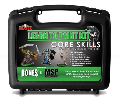 reaper minis uk stockist learn to paint kit