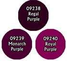 Reaper: Master Series Paints - 09780: Royal Purple Triad