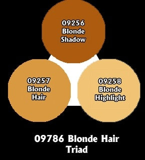 Reaper: Master Series Paints - 09786: Blonde Hair Triad
