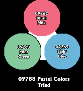 Reaper: Master Series Paints - 09788: Pastel Colors Triad
