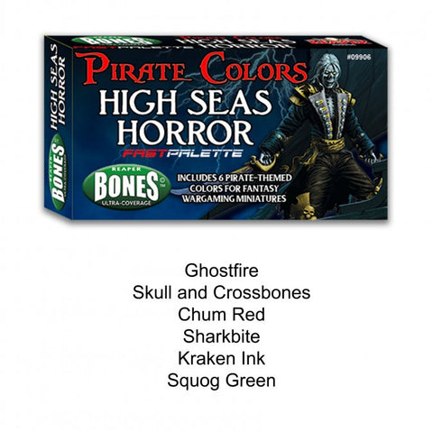 09906: HIGH SEAS HORROR FAST PALETTE MSP PAINT SET-REAPERCON