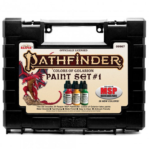 09967 MSP: Pathfinder Colors of Golarion - Paint Set #1