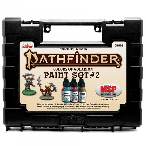 09968 MSP Pathfinder Colors of Golarion - Paint Set #2