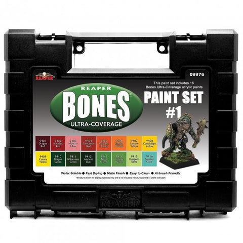 09976 MSP Bones Ultra-Coverage Paints: Set #1