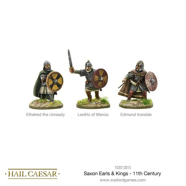 Hail Caesar - Saxon Earls & Kings - 11th Century