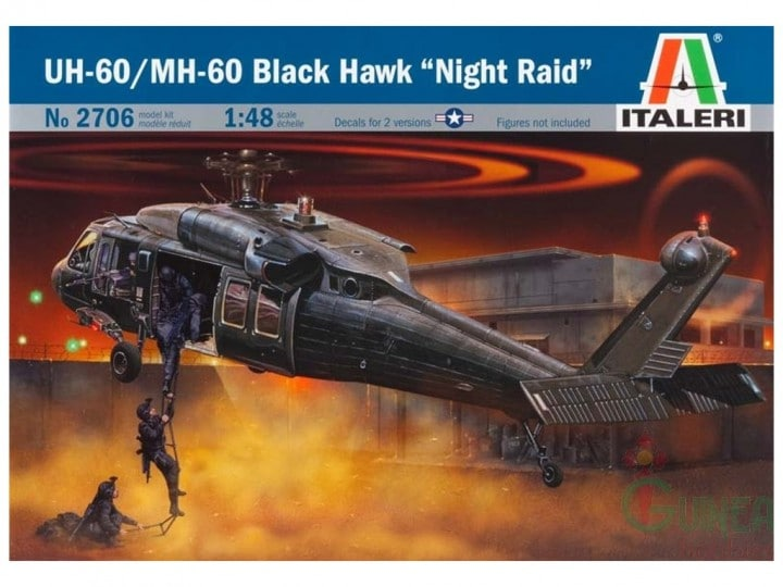 "ITALERI - UH-60/MH-60 Black Hawk ""Night Raid"""