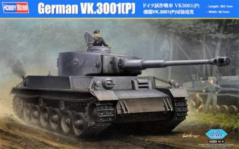 German VK.3001(P)  - 1/35 Scale Model by HobbyBoss :www.mightylancergames.co.uk