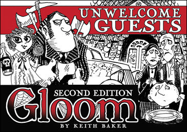 Gloom! 2nd Edition: Unwelcome Guests Exp.