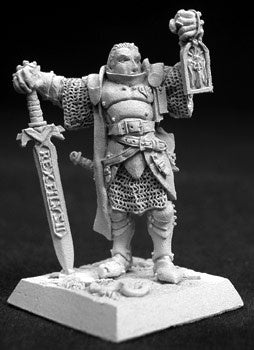 14055: Marcus Gideon, Crusaders Hero sculpted by Werner Klocke: www.mightylancergames.co.uk