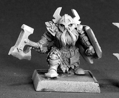 Reaper Warlord 14173 - Gargram Heavyhand, Dwarf: www.mightylancergames.co.uk