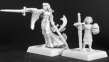 14212: Kristianna, Crusaders Warlord sculpted by Bobby Jackson