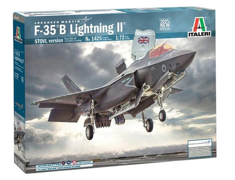 F-35 B Lightning II - Italeri 1/72 (N0 1425) :www.mightylancergames.co.uk