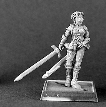 14299: Saramonde, Crusaders Chronicler sculpted by Gene Van Horne: www.mightylancergames.co.uk