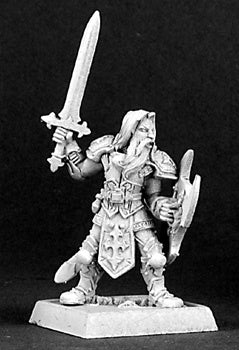 14306: Sir Theo-Justicar, Crusaders Adept sculpted by Bobby Jackson
